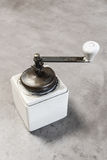 Vintage hand coffee grinder Stock Photos