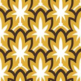Vintage hand drawn art deco pattern Stock Images