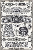 Vintage Hand Drawn Graphic Banners and Labels. Detailed illustration of a Vintage Hand Drawn Graphic Banners and Labels Stock Image