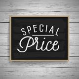 Vintage hand drawn lettering poster for retail Royalty Free Stock Image
