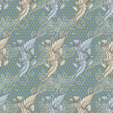 Vintage hand drawn pattern. Stock Images