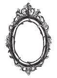 Vintage hand drawn vector frame. Royalty Free Stock Images