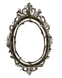 Vintage hand drawn vector frame. Royalty Free Stock Photo
