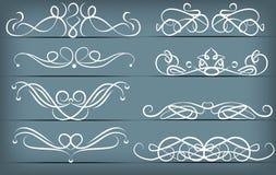 Vintage hand drawn vignette set royalty free stock image