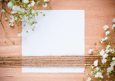 Vintage hand-made background Stock Photos