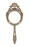 Vintage hand mirror Royalty Free Stock Photos