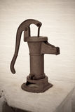Vintage Hand Water Pump Stock Photography