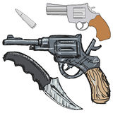 Vintage hand weapon Stock Image