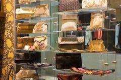 Vintage Handbags For Sale Stock Photography