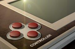 Vintage Handheld Video Game Royalty Free Stock Image
