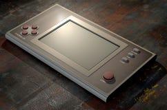 Vintage Handheld Video Game Stock Image