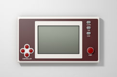 Vintage Handheld Video Game Stock Photography