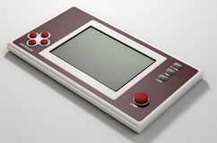Vintage Handheld Video Game Royalty Free Stock Photo