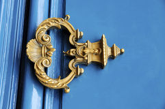 Vintage handle door Royalty Free Stock Images