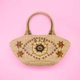 Vintage handmade bag Royalty Free Stock Image