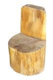 Vintage handmade chair Stock Photos