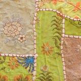 Vintage handmade tapestry background. Jaisalmer, Rajasthan, Indi Stock Photo