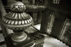 Vintage handrail decoration Stock Photos