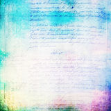 Vintage handwriting texture Royalty Free Stock Photo