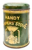 Vintage handy campers stove royalty free stock image