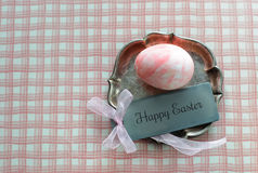 Vintage Happy Easter Decoration Stock Images