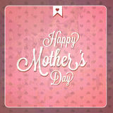 Vintage Happy Mothers Day Cards Stock Image