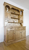 Vintage hard wood cabinet Royalty Free Stock Photos