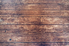 Vintage Hardwood Floor Background Stock Photo