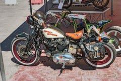 Vintage Harley Davidson Stock Image