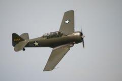 Vintage Harvard training aircraft Stock Photography