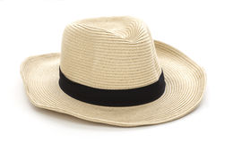 Vintage hat. Image is posed on white background Stock Photo