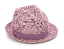Vintage hat. Image is posed on white background Royalty Free Stock Image