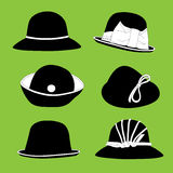 Vintage hats Royalty Free Stock Images
