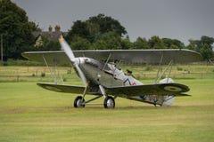 Vintage Hawker Demon bi-plane Stock Photography