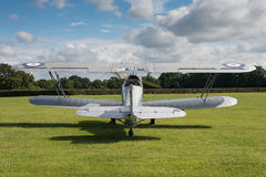 Vintage Hawker Hind bi-plane Royalty Free Stock Photography
