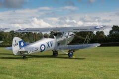 Vintage Hawker Hind bi-plane Stock Image