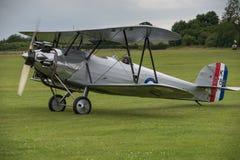 Vintage Hawker Tomtit bi-plane Stock Images