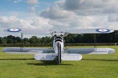 Vintage Hawker Tomtit bi-plane Royalty Free Stock Image
