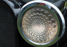 Vintage headlamp Stock Photography