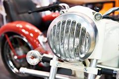 Vintage headlamp motorcycle Royalty Free Stock Image
