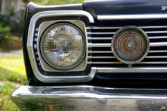 Vintage headlight. Headlight stock photography