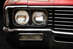 Vintage headlight Stock Photography