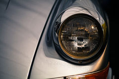 Vintage headlight Stock Images