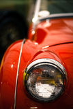 Vintage headlight Royalty Free Stock Photography