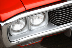 Vintage headlight Royalty Free Stock Images