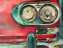 Vintage headlights Stock Photos