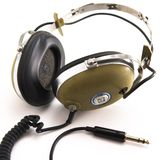 Vintage headphones Stock Photography
