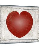 Vintage heart Stock Photography