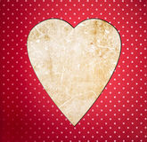 Vintage heart Stock Image