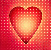Vintage heart Stock Photos